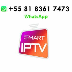 IP*TV Smart Pro 1 YEAR✔️M3U✔️Adult Hot🔥SMARTER TV✔️PC&MAC✔️ANDROID iOS