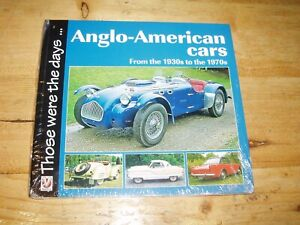Anglo-American Cars from the 1930s to the 1970s. Still in original Shrinkwrap.