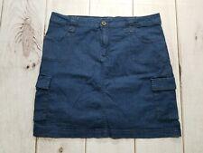 Dress Barn DB Denim Cargo Stretch Skirts Size 12