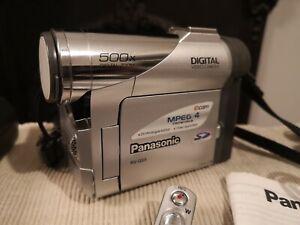 Panasonic NV-GS5 Mini Dv Digital Video Camera Camcorder Vintage