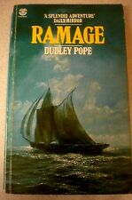"""RAMAGE (the first """"Ramage"""" novel) DUDLEY POPE Historical fiction VIntage p/b"""