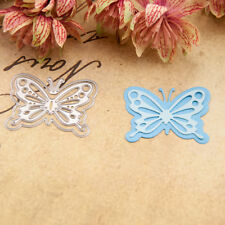 butterfly Metal Cutting Dies Stencil Scrapbooking Paper Card Embossing Craft WQH
