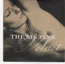 (EJ563) The Big Pink, Velvet - 2009 DJ CD