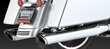 V&H Twin Slash Exhaust HARLEY Electra/Road/Street/Tour Glide, Road King (16763)