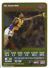 2007 Teamcoach Gold (8) Jason ROE Brisbane