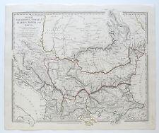SDUK MAP MACEDONIA THRACIA ILLYRIA MOESIA DACIA ANCIENT 1830 PUBLISHED 1844