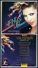 """YSA FERRER """"Hands Up"""" (CD Digipack) 2010 NEUF"""