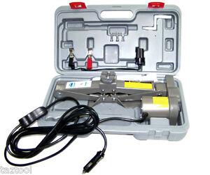 1-1/2 TON 12 V ELECTRIC AUTOMOTIVE CAR FLOOR JACK 12 VOLTS 3300LB CAPACITY