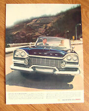 1958 Dodge Ad Swept Wing 58 Torsion-Aire