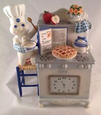 Pillsbury Doughboy Time For Pie Clock Danbury Mint Cherry Needs Cleaned