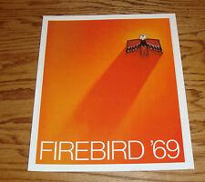 1969 Pontiac Firebird Sales Brochure 69 Sprint 350 400 H.O.