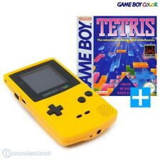 Nintendo GameBoy Color - consola #amarillo + Tetris usado