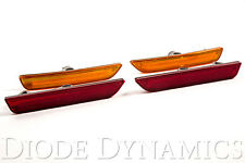 2010-2014 Ford Mustang Diode Dynamics  LED Side Marker Set Amber Red Front Rear