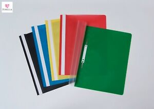 A4 PROJECT Presentation FOLDERS Quality DOCUMENT REPORT FILES Holds 100 Sheets