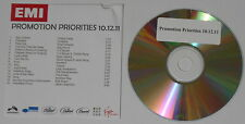 Chiddy Bang, Coldplay, Tinie Tempah, Katy Perry, VV Brown 2011 U.S. promo cd