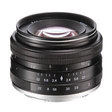 Neutral 50mm F2.0 Focus Fixed MF Lens For NIKON 1 Mount V1/V2/V3/J1/J2/J3/J4/J5
