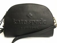 Kate Spade Women's Handbag Crossbody Pebbled Leather Black  - RRP £225