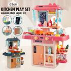 41Pcs/Set Kitchen Play Set Pretend Baker Kids Girl Cooking Playset Toys Gift
