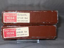 Sheaffer Vintage White Dot Targa Fountain Pen/ball pen Set - red ronce laque