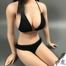 A801BLK 1:6 Scale ace Female action figure parts - Black Bikini top and Bottom