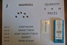 XOMT060204 TT8020 Ingersoll Inserts