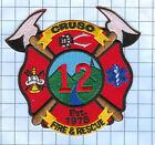Fire Patch - Cruso