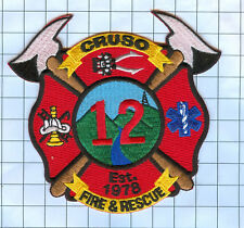 Fire Patch - Cruso