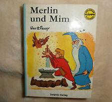 Buch Nr. 15 Goldene Happy Bücher Merlin und Mim 2. Auflage1974 Delphin Verlag