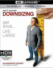 Downsizing [Blu-ray], New DVD, Kristen Wiig,Matt Damon, Alexander Payne