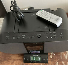 Sony Zs-S4iP for iPod & iPhone Portable BoomBox Cd Radio Audio Tested + Remote