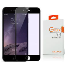 Nacodex For iPhone 8 Full Cover Tempered Glass Screen Protector -Black