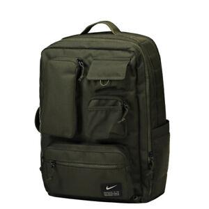 Nike Unisex Utility Elite Training Backpack CK2656-355 Dark Green RARE NEW