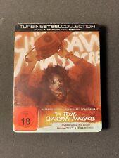 The Texas Chainsaw Massacre-4K Uhd+Blu-ray Steelbook-Import-limited #35-New-Read