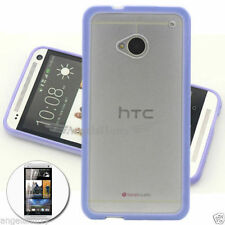 Unbranded/Generic Silicone/Gel/Rubber For HTC One Matte Mobile Phone Cases, Covers & Skins