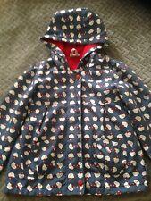 Girls Hello Kitty Fleece Lined Lightweight Coat Jacket Size 4-5