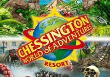 2 X Chessington E Tickets Friday 8th October 2021 Fri 8.10.21 rrp £96