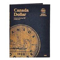WHITMAN Canada Dollar Number 4 Four Starting 1987 Folder Album #2489