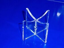 clear acrylic cricket ball  tennis ball  baseball display stand signed autograph