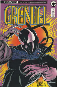 Grendel #3- Matt Wagner, Pander Brothers, 1986, Comico, VF!