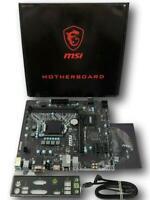 MSI H110M ECO Micro ATX LGA1151 Motherboard Intel HDMI SATA 3.1 Micro ATX