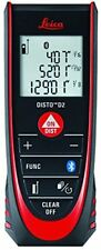 Leica DISTO D2 New 330 ft Laser Distance Measure with Bluetooth 4.0 , Black/Red