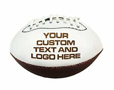 Custom Personalized Laser Engraved Miniature Toy 7 inch Football Wedding Gift