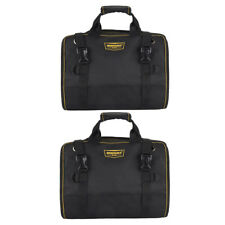 2Pcs Heavy Duty Large Oxford Electrician Roll Up Hardware Tools Storage Bags
