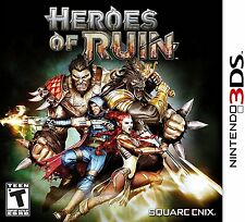 Heroes of Ruin  (Nintendo 3DS, 2012) BRAND NEW