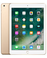 "Apple iPad 9.7"" (2017) 32GB Wi-Fi (A1822) Gold, 5th Generation - New & Sealed"