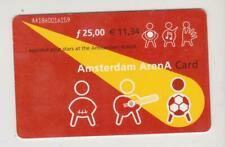 Amsterdam Arena Card 2001 Applaud your stars at the Amsterdam ArenA AA1860016159