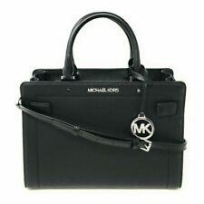Michael Kors Rayne Satchel Bag, Medium - Black
