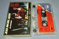 JEAN MICHEL JARRE IN CONCERT PAPER LABELS cassette tape album T8800