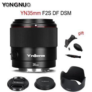 YONGNUO YN35mm F2S DF DSM Wide Angle Full Frame Auto Focus Lens For Sony E-Mount