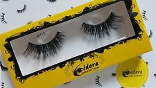 Eldora False Eyelashes M115 Multi-Layered Human Hair Strip Lashes